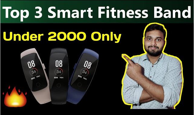 Top 3 Fitness Smart Band Under 2000 Rs.